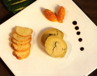 Foie gras à la vanille de Tahiti
