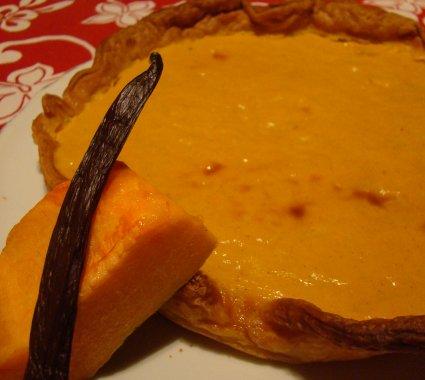 Histoire de Vanille, 100% Bio - tarte potiron vanille
