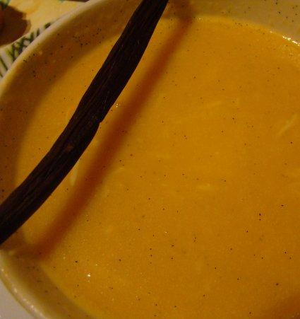 Histoire de Vanille, 100% Bio - velouté au potiron vanille