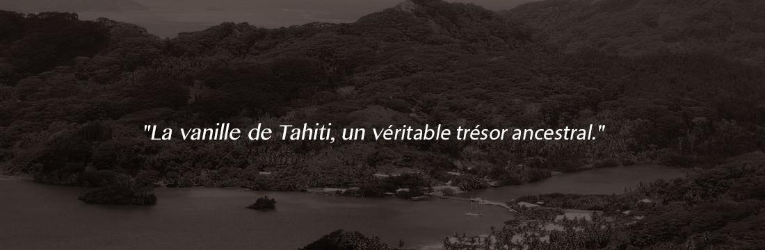 Histoire de Vanille, 100% Biologique - la vanille de Tahiti, un véritable trésor ancéstral