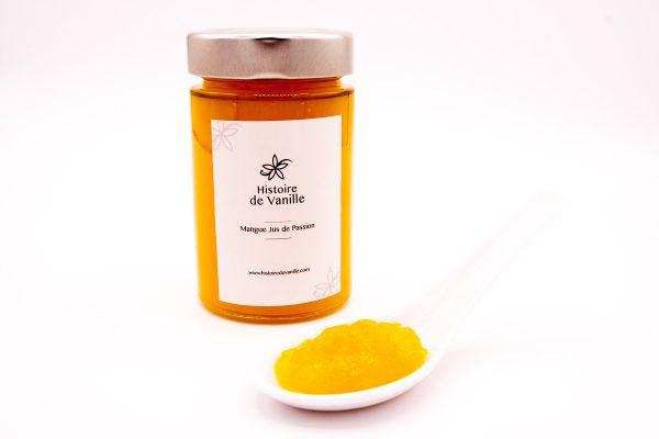 Histoire de Vanille, 100% Bio - compotée mangue et passion